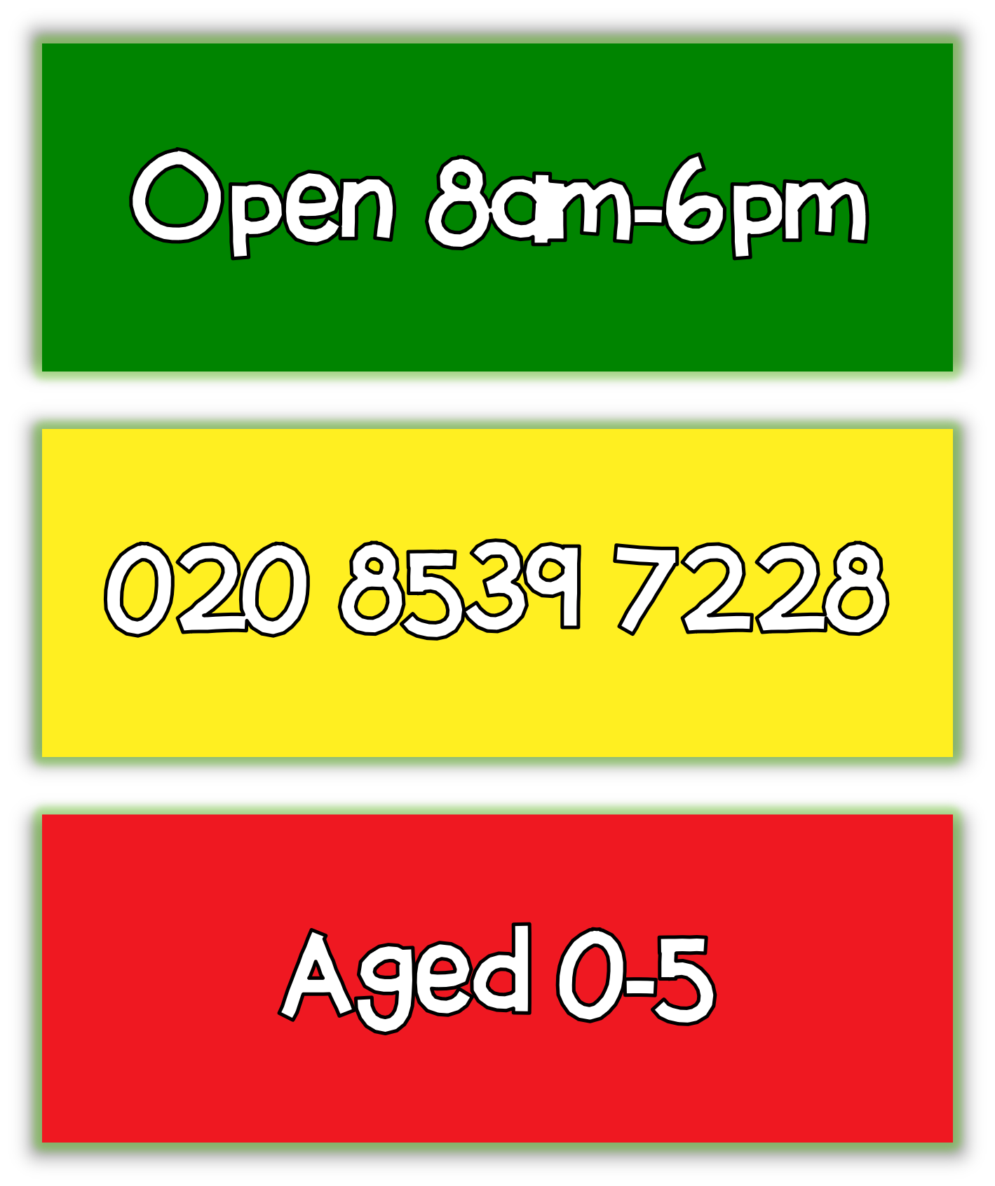 Little_green_man_openingtimes_number_ages